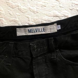 Brandy Melville Shorts - Brandy Melville Black Denim Shorts